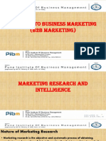 B2B Marketing - Marketing Intelligence