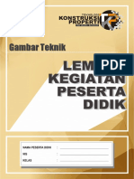 LKPD GAMBAR TEKNIK 1