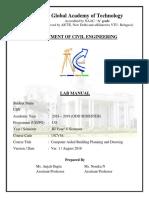 Cad Lab Manual