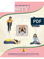 Yogic management of obesity