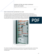Electrical-Engineering-portal.com-Practical Implementation of the Six Most Common Transformer Protection Principles