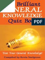 The Brilliant General Knowledge Quiz Book ( PDFDrive.com )
