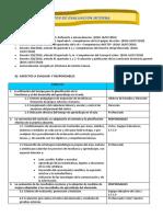 05 Procedimiento Evaluacion Interna