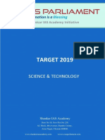 Science and technology for upsc csat