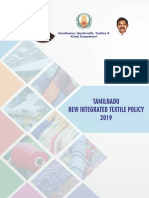 Tamil Nadu New Integrated Textile Policy 2019