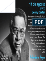 11 de Agosto - Alex Haley
