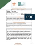 Ficha Técnica Categoría Bases de Datos