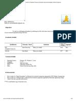 Resume Format for Freshers Resume Sample Resume Templates Online Resume