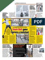 Usain Bolt en Lima 2019
