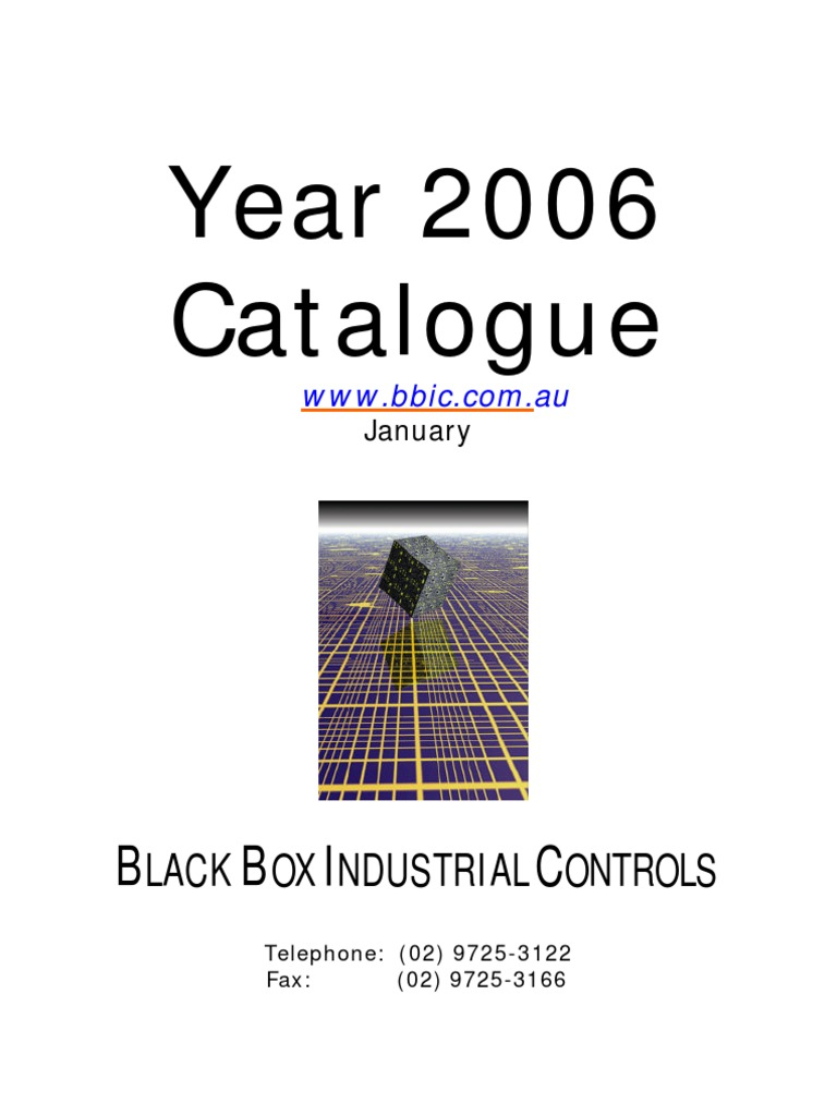 Box Industrial Fuse L 6410 Trusted Wiring Diagrams Black Controls Catalogue 2005 Electrical