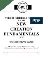 NEW CREATION FUNDAMENTALS-final[1].doc
