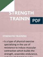 Strength Training Group 1 Matthew
