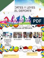 Deportes y Leyes Del Deporte