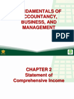 2 Statement of Comprehensive Income