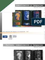 Cultura, Comunicación y Lenguajes