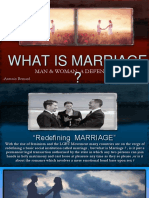 25. What is Marriage ? Man and Woman a Defense