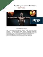 Natural Bodybuilding La Dieta in Definizione1