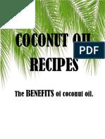 Coconut Oil Recipe