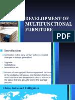 Development of  Multifunctional Furniture ppt