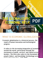 1 the Globalization of Economic Relations