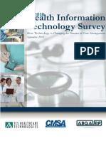 2010 Health IT Survey Report Final
