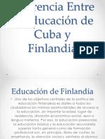 Trabajo Niños Cuba y Finlandia