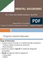 6 Organic Mental Disorders