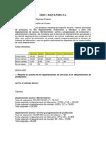 Caso Materia Control y Gestion de Costes