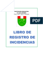 Libro Reg Incidencias