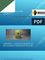 Invias Seccion 300-Cemento David