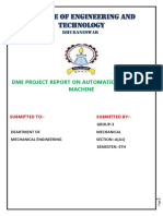 A Project Report on Automatic Hammering Machine
