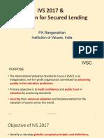 IVS 2017 & Valuation for Secured Lending