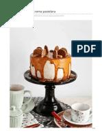 Tartas mouse de crema pastelera