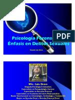 Psicología Forense Con Énfasis en Delitos Sexuales