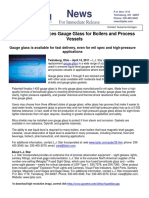 Gage Glass Product Release
