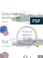 Maryam Tohidi_ Building the right product  and getting it right.pptx