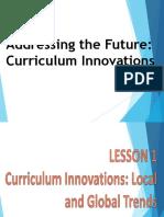 Curriculum Innovations