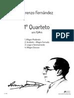 LF 4.20 Quarteto Nº1 Violino I