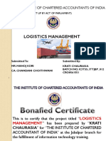 Logistics Management PPT pdf itt.pdf