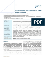 The Effects of PhysicoChemical Factors and Cell Density on Nitrite Transformation in a Lipid-Rich Chlorella (Ej) [LIANG Et Al] [J Microbiology & BioTechnology v25n12; 31-08-2015] {9s}
