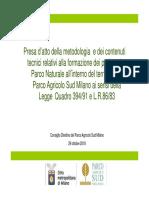 Presa d'Atto_ottobre2018_proposta Perimetri_aree a Parco Naturale.ppt [Modalità Compatibilità]