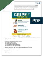 Atividade 5 - 7º Ano - Leitura- Folheto, ECA