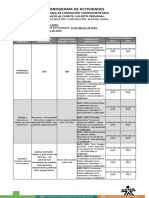 Cronograma de Actividades_ceico 2019 Guía v3 Servicio Al Cliente