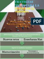 Estrategias para la enseñanza de la historia en educación básica