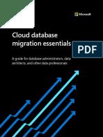 Cloud database migration essentials