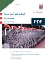 Staat Und Wirtschaft in Hessen 2006