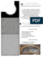 Infografía Arte Medieval en Easel