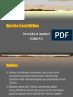 Teori Analisa Sensitivitas-1