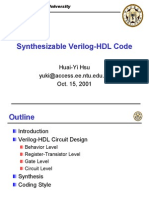 (eBook - PDF) Synthesizable Verilog-HDL Code - Circuit Design