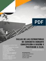 Fallas de Las Estructuras de Concreto